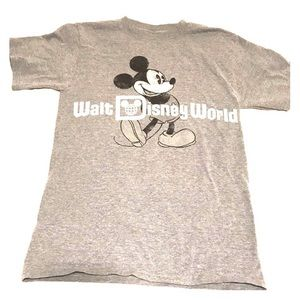 🧁3/$20 Walt Disney World Disney Mickey Mouse Gray